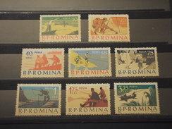 ROMANIA - 1962 PESCARE  8 VALORI  - NUOVI(+) - Nuevos