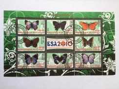 Papillons, Vlinders, Butterflies, Schmetterling, Mariposa, Rwanda Kigali 2010, Cinderella (o), Used - Vlinders