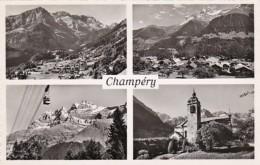 Switzerland Champery Multi View Photo - VS Valais