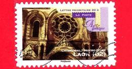 FRANCIA - Usato - 2011 - Arte Gotica - Cattedrale Di Notre-Dame (Laon) - 20 G - France