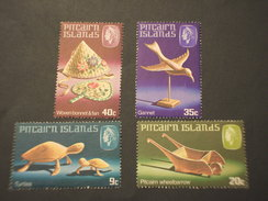 PITCAIRN - 1980 ANIMALI, Ecc 4 VALORI - NUOVI(++) - Francobolli