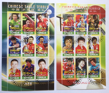 Chinese Table Tennis, Ping-Pong, Tischtennis, Tafeltennis, Sport, Rep. Of Somalia Mogadishu 2010, Cinderella (o), Used - Tafeltennis