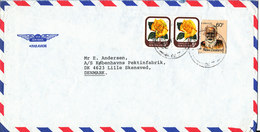 New Zealand Air Mail Cover Sent To Denmark Dower Hutt 9-5-1983 - Poste Aérienne