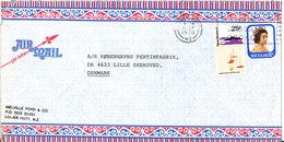 New Zealand Air Mail Cover Sent To Denmark Dower Hutt 29-9-1978 - Poste Aérienne