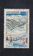 ANDORRE  Français   1966  Y.T. N° 175  Oblitéré