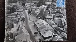 CPSM LA PACAUDIERE LOIRE VUE AERIENNE DU CENTRE 1955 ED CIM - La Pacaudiere