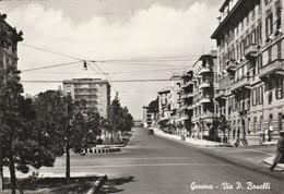 CARTOLINA: GENOVA - VIA PAOLO BOSELLI - F/G - B/N - VIAGGIATA - LEGGI - Genova (Genoa)