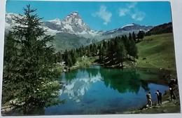 CERVINIA-BREUIL - LAGO AZZURRO   (9669) - Aosta
