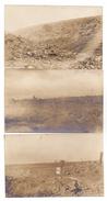 F 02420 NAUROY, 1.Weltkrieg, Kampfgelände Um Den Pöhlberg, 1917, 6 Photo-AK - Saint Quentin