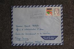 Enveloppe Envoyée Par Avion De TOULON à MADAGASCAR - Marcophilie (Lettres)