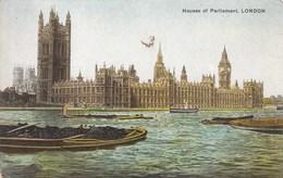 London, Houses Of Parliament (pk34414) - London