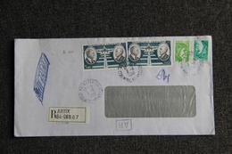 Enveloppe Recommandée ARTIX - Marcophilie (Lettres)