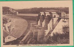 36 - Barrage D'Eguzon - Le Barrage, Rive Gauche - Les Déversoirs - Editeur: Hirondelle N°4 - Frankreich