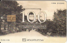 MOLDOVA - Telecard 100 Units, Tirage 50204, 11/06. Used