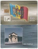 MOLDOVA -  Triumph Arch 100 Units, Chip GEM3.3, 01/00, Used