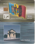 MOLDOVA -  Triumph Arch 100 Units, Chip GEM3.1, 01/00, Used