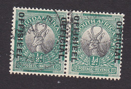 South Africa, Scott #O13, Used, Springbock Overprinted, Issued 1930 - South Africa (...-1961)