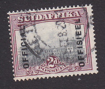 South Africa, Scott #O16b, Used, Government Buildings Overprinted, Issued 1930 - South Africa (...-1961)