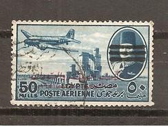 Egipto - Egypt. Nº Yvert  Aéreo 77 (A) (usado) (o) (pliegue) - Poste Aérienne