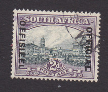 South Africa, Scott #O16a, Used, Government Overprinted, Issued 1930 - South Africa (...-1961)