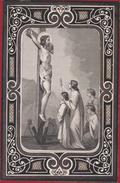 Julien Deleuse Auvelais Sambreville 1865 Litho Lithographie Zeer Oud Doodsprentje Image Mortuaire - Images Religieuses