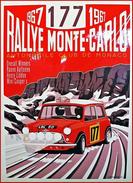Rallye Monte-Carlo 1967 , Mini Cooper S - Carte Photo Moderne - Le Mans