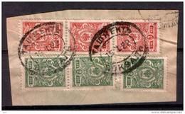 Russia 1922 Fragment Of The Envelope Tashkent Railway Station (Central Asia)