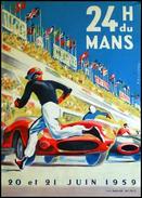 24 H Du Mans 1959 - Carte Photo Moderne - Le Mans