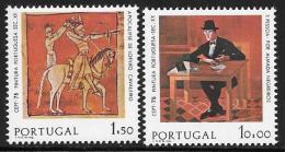 Portugal, Scott # 1253-4 MNH Europa Set, 1975 - Unused Stamps