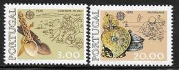 Portugal, Scott # 1283-4 MNH Europa Set, 1976 - Unused Stamps