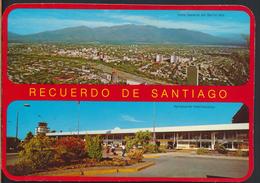 °°° 3686 - CILE CHILE - RECUERDO DE SANTIAGO - VIEWS °°° - Chile
