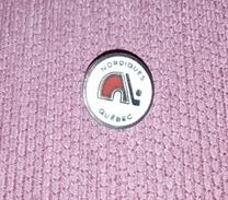 HOCKEY CLUB NORDIQUES QUĒBEC CANADA (NOW COLORADO AWALANCHE), RARE VINTAGE ENAMELED PIN BADGE - Winter Sports
