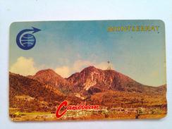 Montserrat Phonecard EC$20 Mountains