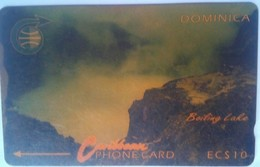 Dominica Phonecard 4CDMA EC$10 Boiling Lake - Dominica