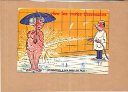 HUMOUR - VIVE LES CURES THERMALES - Attention à Ma Mise En Plis - MOD - - Humour