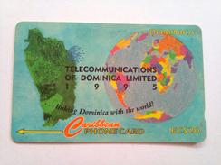 Dominica Phonecard EC$20 Telecom Of Dominica