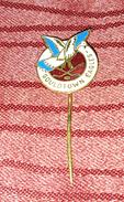 GOULDTOWN EAGLES HOCKEY CLUB, VINTAGE ENAMEL PIN BADGE - Winter Sports