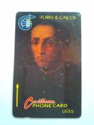 Turks And Caicos 3CJGC Columbus US$5