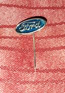 FORD, ORIGINAL VINTAGE METAL PIN BADGE - Ford
