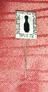WORLD BOWLING CHAMPIONSHIP SPLIT 1972. ORIGINAL VINTAGE PIN BADGE - Bowling