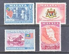 MALAYA  80-3   *   MAP  ARMS - Malaya (British Military Administration)