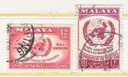 MALAYA  85-6   (o)   ECAFE  CONFERANCE - Malaya (British Military Administration)