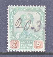 JOHORE  42   (o) - Johore