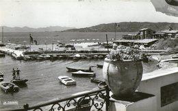 Juan Les Pins Le Port Du Crouton Et La Maison Des Pecheurs  Petit Format CPM Ou CPSM - Juan-les-Pins
