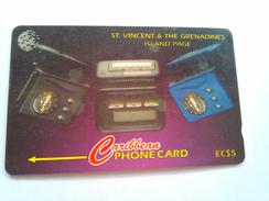 St Vincent Phonecard 259CSVB   EC$5 Island Page