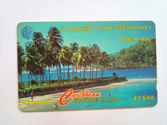 St Vincent Phonecard EC$40 Indian Bay 142CSVA