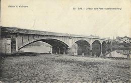Dax (Landes) - L'Adour Et Le Pont Nouvellement élargi - Edition A. Cazenave - Dax