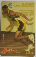 St Vincent Phonecard EC$10 Olympics 168CSVA