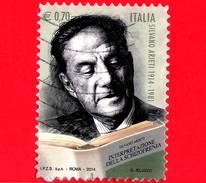 ITALIA - Usato - 2014 - Centenario Della Nascita Di Silvano Arieti, Psichiatra - 0,70 - Ritratto - 6. 1946-.. Republik