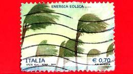 ITALIA - Usato - 2014 - Energie Rinnovabili - 0,70 - Energia Eolica
